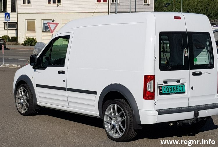 Bilde av DP 36518, en Ford Transit Connect (DP36518)