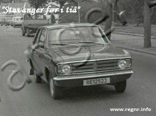 Bilde av RE 12523, en Ford Cortina (RE12523)